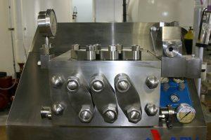 Stable emulsion using Actikem's new Gaulin Homogeniser